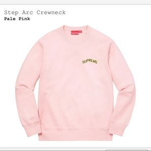 Step arc crew neck