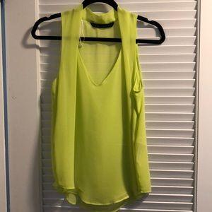 Zara tank blouse