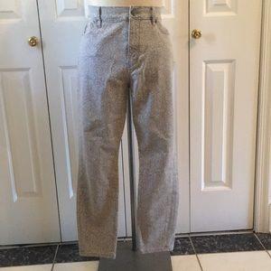 Loft waist ankle jeans