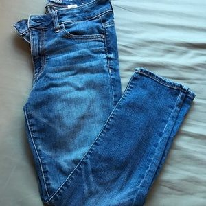 American Eagle High Rise Jegging Crop, Size 2
