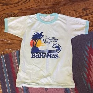 Vintage Aquamarine shirt