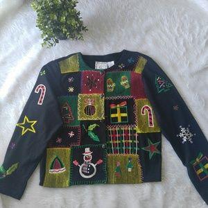 Michael Simon Christmas jacket