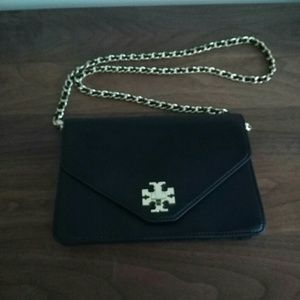 Tory Burch Kira Envelope Leather Crossbody Bag