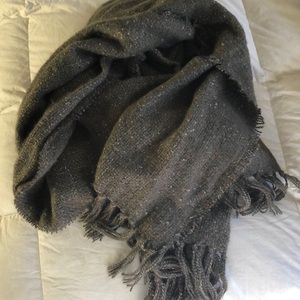 Grey Cozy Winter Scarf