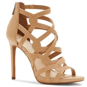 Show-stopping Jessica Simpson Strappy Stillettos
