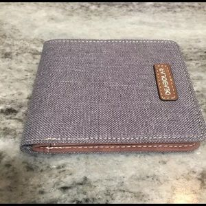 New Vintage Style Canvas Look Wallet