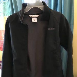 Women's size medium Columbia black shell jacket