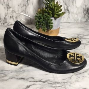 Black Tory Burch heels 9