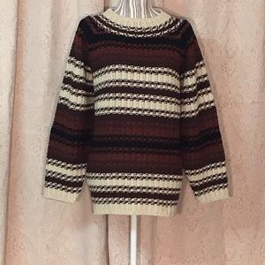 Charlie, vintage chunky oversized Pasta sweater