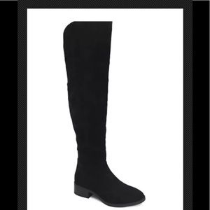 Lexy and Abbie over the knee Suede boot