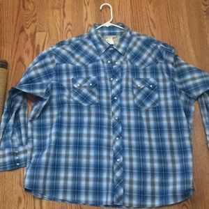 Long sleeve casual button down from Wrangler
