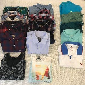 Men's Shirt Bundle GREAT DEAL!