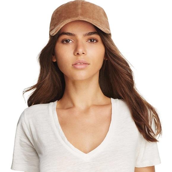 b3a594e5c8f8b Rag   Bone Marilyn Camel Suede Hat. M 5a18530e4e95a3977706ff72