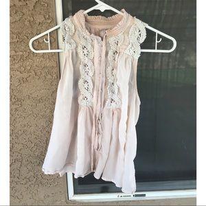 Free People boho blouse