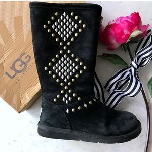 "UGG Australia ""Avondale"" Diamond Studded Boots"
