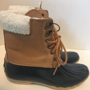 Sperry Top-sider Women's Duck Boots Sz. 10