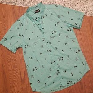 NET Men's Short Sleeve Button Up