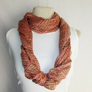 #hundredsofscarves: DIAMOND Pattern Infinity Scarf