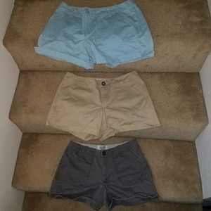 Lot 3X Old Navy Comfy Distressed Shorts