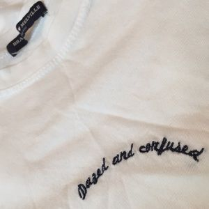 NWOT Brandy Melville Dazed and Confused Tee Shirt