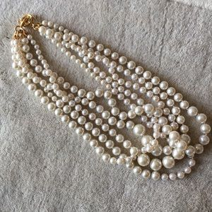 Jcrew multi- strands pearl necklace