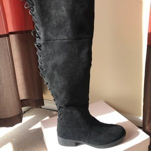 Just Fab over the knees boots