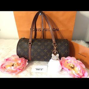 Authentic Louis Vuitton Papillon 30