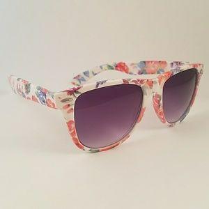 Accessories - Floral festival glasses