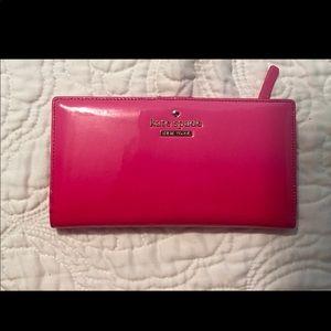 Pink Kate Spade wallet