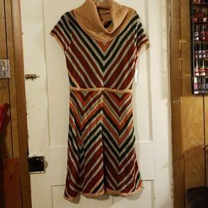 NWT Jessica Simpson Cowl Neck Sweater Dress