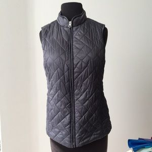 ❗️Croft & Barrow Grey Quilted Vest MSRP $78!