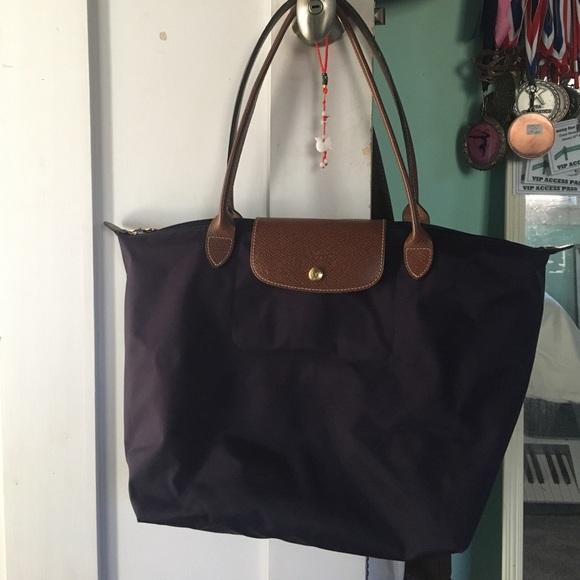 ddc5ce5fc92 Longchamp Handbags - Longchamp Le Pliage Large Nylon Shoulder Tote