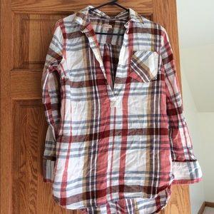 Merona plaid shirt m
