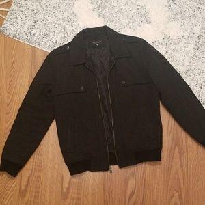 Men's Zip Up Coat