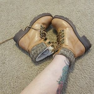 Hiker looking ankle boot