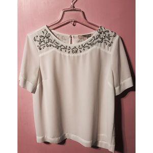 White Pearl Blouse
