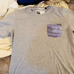 SuperDry T-shirt with front pocket