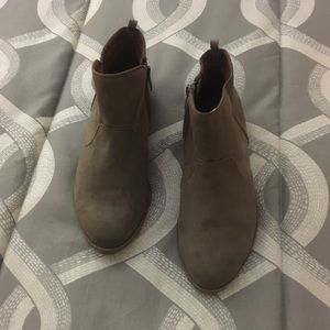 Gap Suede Ankle Booties