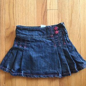 Little Girl's Denim Skirt