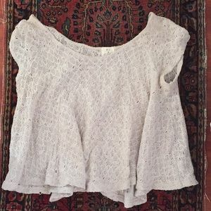 Pins and Needles boho top