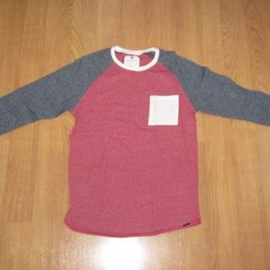 On the Byas soft shirt - 3/4 sleeve size Medium