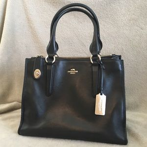 Authentic Coach Leather Carryall