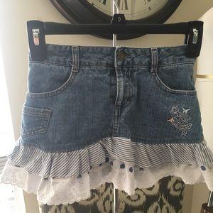 Disney shorts skirt size 7 ruffles