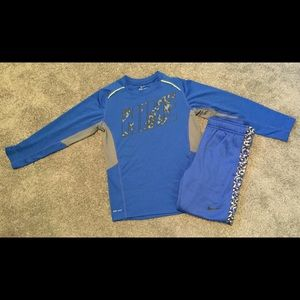 Boys Nike outfit size small
