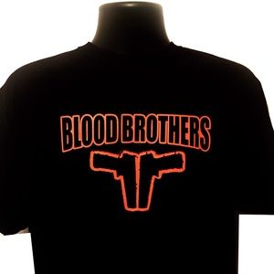 Blood brothers guns logo