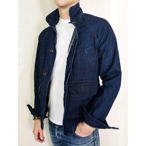 Apolis Selvedge Denim Chore Jacket L