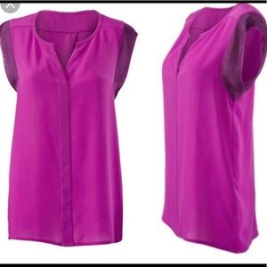 Cabi campo top size small in fushia