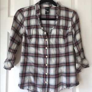 Guess button-down top