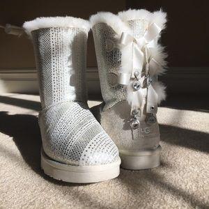 UGG Australia white boots