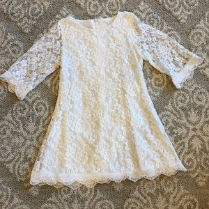 Other - Toddler girl lace flower girl dress